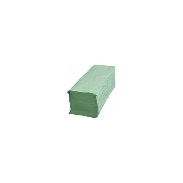 Mopatex Handtowel Zick Zack 1Ply Green Pack 041240 0140440009