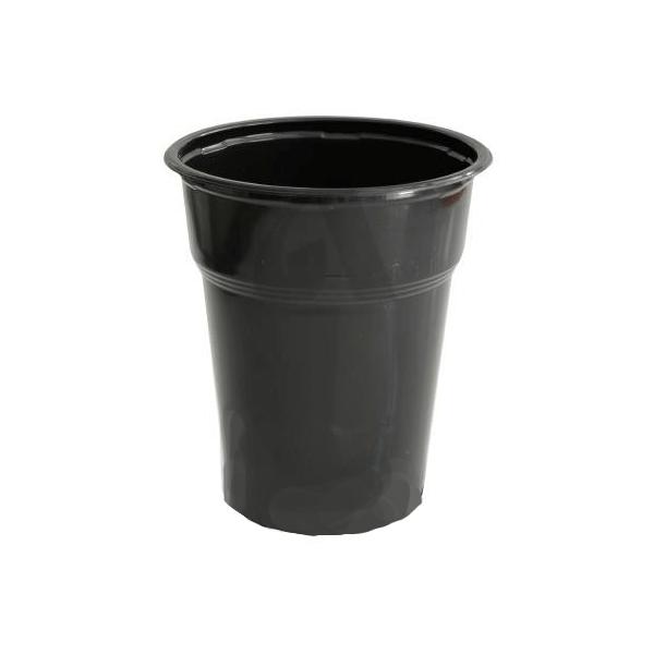 Dimexsa Plastic Cups Black 504/300ML  50PCS 0250504-4 0150220003