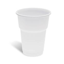 lariplast Plastic White Cups 503/250ML 50PCS 02ΠΛ-ΝΡΡ3500503 5202287005036