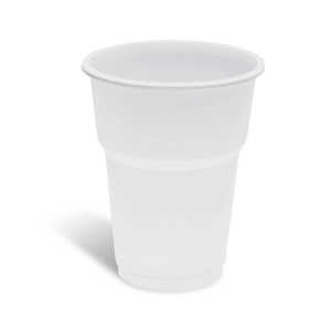 lariplast Plastic White Cups 503/250ML 50PCS 02ΠΛ-ΝΡΡ3500503 5202287005036