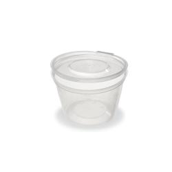 Θαλασσινός Bowl Sauce With Lid 120ML 50PCS ΕΜ.5508 5202054255084