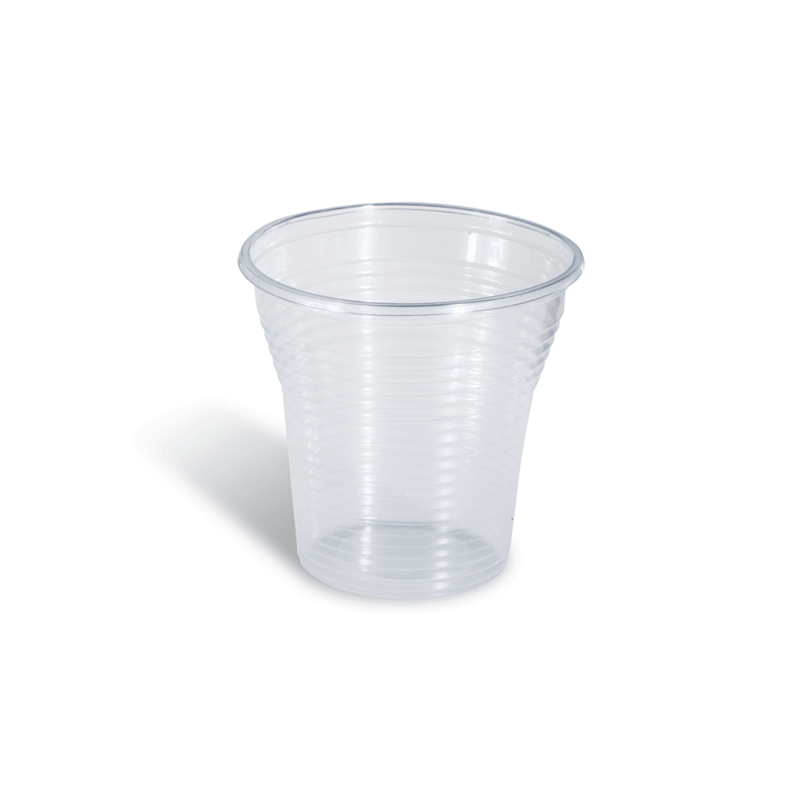 Dimexsa Plastic Transparent Cups 501/130ML 50PCS 0140105 5202501911853