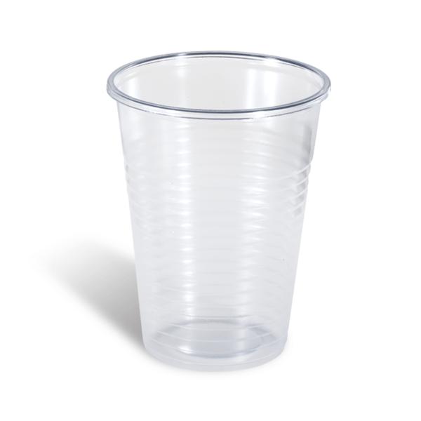 Dimexsa Πλαστικό Ποτήρι Διάφανο 502/200ML 100 Τεμάχια 0250502-2 0150220007