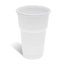 Dimexsa Plastic White Cups 508/350ML 50PCS 0250627 5202209516275