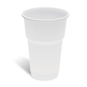 Dimexsa Plastic White Cups 508/350ML 50PCS 0250627 5202209516275