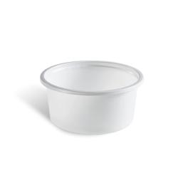 Dimexsa Μπωλ Πλαστικό Λευκό 240GR 100 Τεμάχια 0250240 0150520018