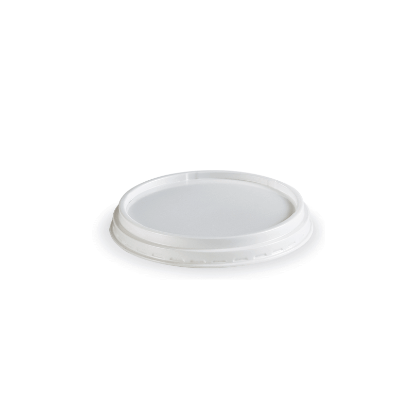 Dimexsa Lid Round White For Bowl 240GR 100PCS 0250431-1 0150520019