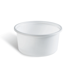 Dimexsa Μπωλ Πλαστικό Λευκό 640GR 50 Τεμάχια 0250433 0150520022