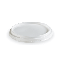Dimexsa Lid Round White For Bowl 640GR 50PCS 0250439 0150520023