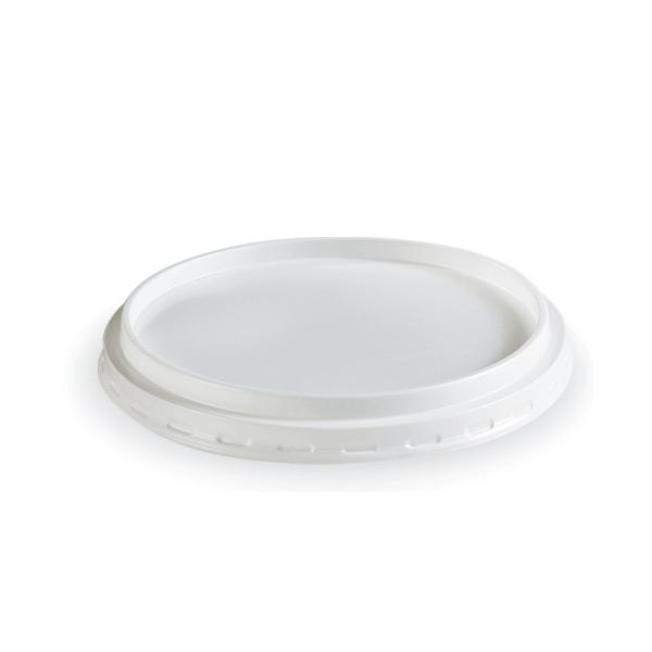 Dimexsa Lid Round White For Bowl 1280GR 50PCS 0250435 0150520025