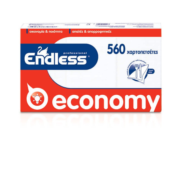 Endless Χαρτοπετσέτα Εστιατορίου Economy 560ΤΕΜ 24Χ24 1100240005 5202995007223