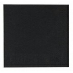 finezza Napkin Luxury Black 85PCS 33X33 3Α-ΑΤ-15 0140430023