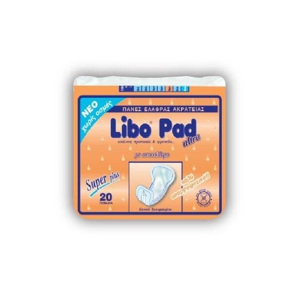 LIBO Σερβιέτα Ακράτειας Plus 20ΤΕΜ LIBO ΣΕΡΒΙΕΤΑ PLUS 5204899400513
