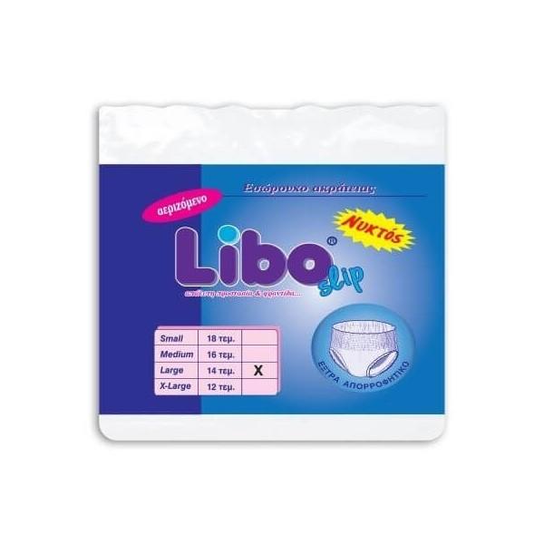 LIBO Incontinence Diapers Slip Large 14Pcs LIBO ΒΡΑΚΑΚΙ ΝΥΚΤΟΣ -L- 5204899100826