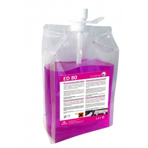 quimxel ED80 Ultraconcentrated Sanitizing WC Cleaner 1.5LT ED-80 8428446481153