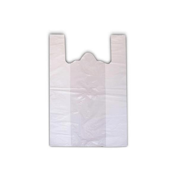 PACKCENTER Τσάντα Χαρτοπλάστ Λευκή 35CM 000018-35-1 5200126290070