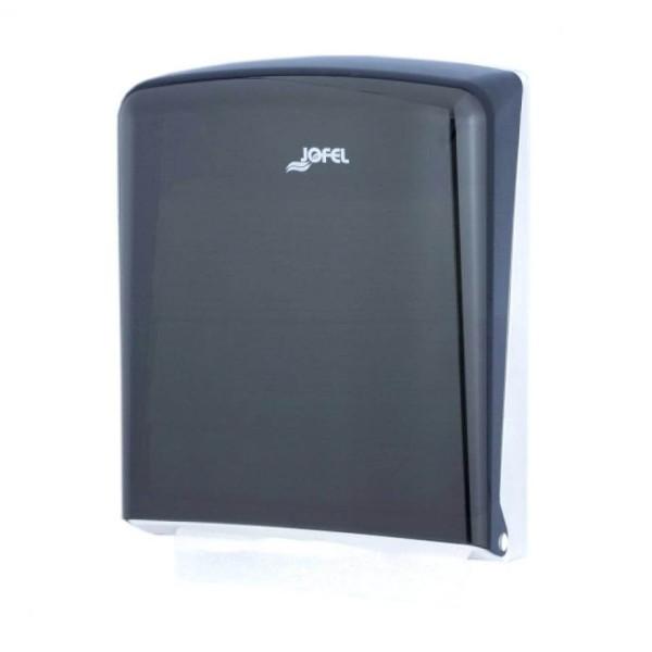 JOFEL Paper Dispenser Zick Zack Black 5100933 8427950324581