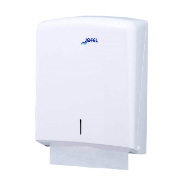 JOFEL Paper Dispenser Zick Zack White 5101006 8427950302954