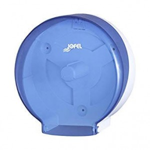 JOFEL Mini Jumbo Toilet Paper Dispenser Blue AE52200 8427950324369