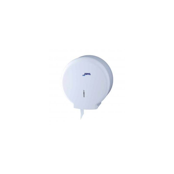 JOFEL Mini Jumbo Toilet Paper Dispenser White AE51000 8427950303470