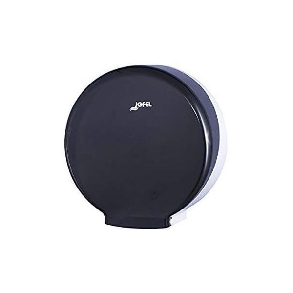 JOFEL Mini Jumbo Toilet Paper Dispenser Black 5100932 8427950324383