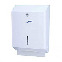 JOFEL Paper Dispenser Zick Zack Metallic White AH20000 8427950300059