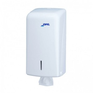 JOFEL Folded Toilet Paper Dispenser White AH70000 8427950309045