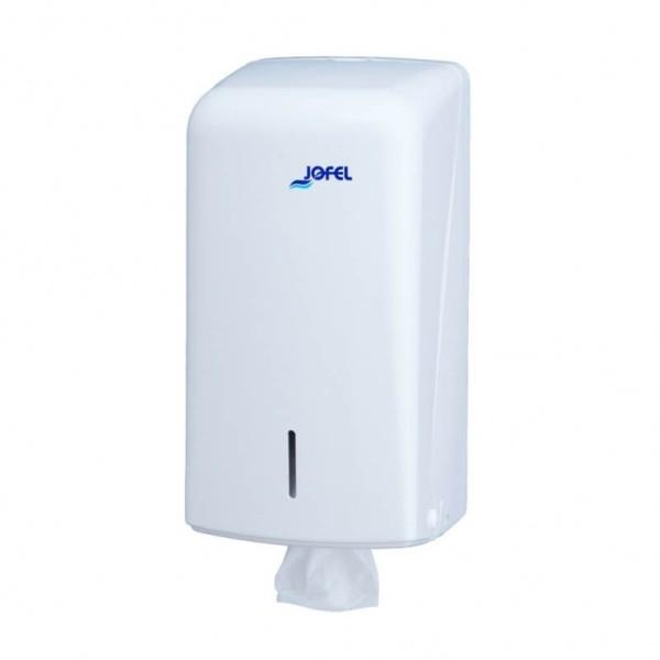 JOFEL Συσκευή Χαρτιού Υγείας Φύλλο-Φύλλο Λευκή AH70000 8427950309045