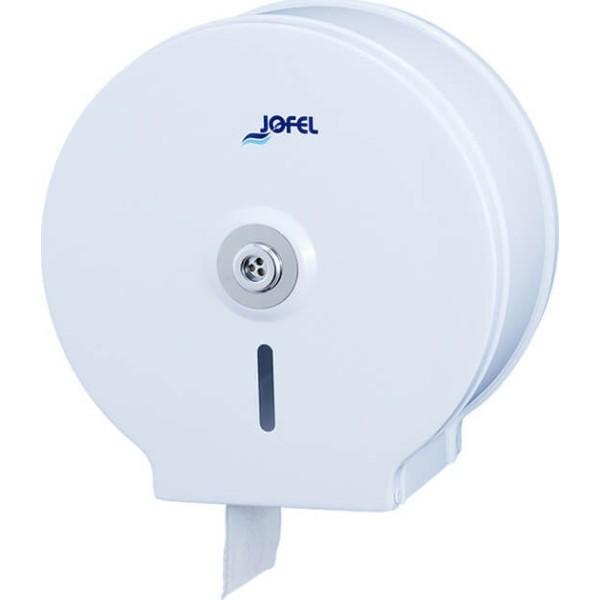 JOFEL Συσκευή Χαρτιού Υγείας Επαγγελματικού Μεταλλική Λευκή AE12400 8427950300592