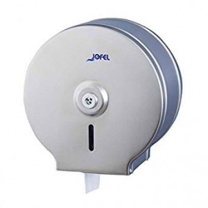 JOFEL Mini Jumbo Toilet Paper Dispenser Inox Matte AE23000 8427950300653