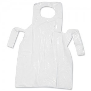 OEM Disposable Apron 100PCS White ΓΠ01 0250650000