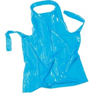 Mopatex Disposable Apron 100PCS Blue 41003 5213000741476