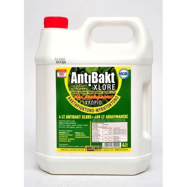 HOLCHEM CHEMICALS Antibakt Xlore 4Lt HOL-99103-0004 5204114740042