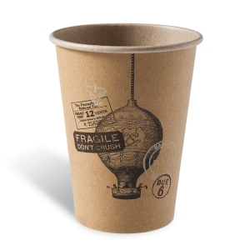 Dimexsa Paper Cups 8OZ Craft Air Balloon 50PCS 053002-6 0150210014