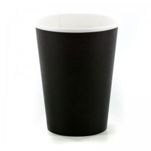 INTERTAN Paper Cups 8OZ Black 50PCS Q531002M 0150210015