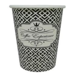 Dimexsa Paper Cups 8OZ Black Coffee Experience 50PCS 0530039 0150210016