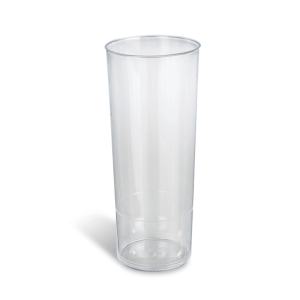 Dimexsa Plastic Clear Cups Tube 10PCS 0091017-1 5206492001661