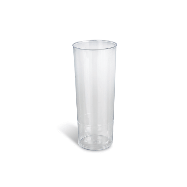 Dimexsa Plastic Clear Cups Tube 10PCS 0091017-1 5206492001661