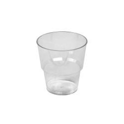 Dimexsa Πλαστικό Ποτήρι Κρυστάλ Χαμηλό 25ΤΕΜ 0091019 5202501917589