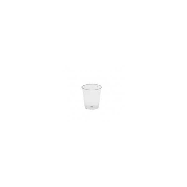 Dimexsa Πλαστικό Ποτήρι Κρυστάλ Σφηνάκι 40CC 50ΤΕΜ 0091001 5202501918357