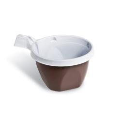Dimexsa Πλαστικό Ποτήρι Καφέ Με Λαβή 100ML 50ΤΕΜ 0250008 0150220017