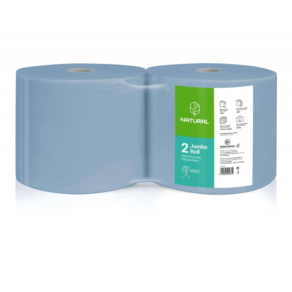 Endless Natural Jumbo Roll Blue 4KG 1107610211 5202995009814